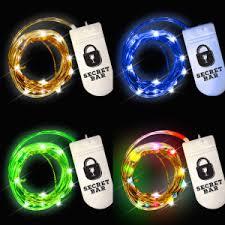 custom led string lights custom printed starry night led string lights
