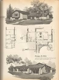 Mid Century Modern Ranch House Plans 84 Best Mid Century Modern Floor Plans Images On Pinterest