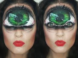 Eye Halloween Makeup by Cyclops Big Eye Facepaint Youtube