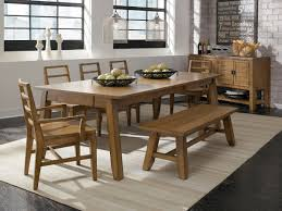 Pine Dining Room Sets Dining Room Tables With Bench Seating Provisionsdining Com