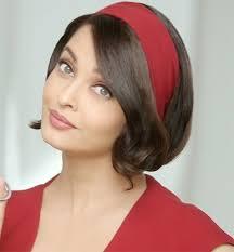 how to wear bandanas with bob hairstyles how to wear headbands like a star aishwarya rai celebrity and
