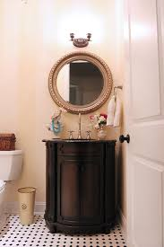 Powder Room Makeovers Photos - powder room makeover reveal less than perfect life of bliss
