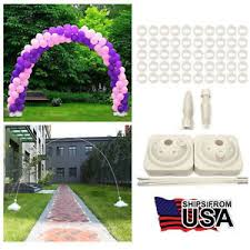 Wedding Arches Ebay Large Balloon Arch Column Stand Frame Kit For Birthday Wedding
