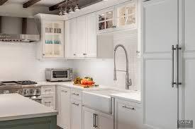 white shaker kitchen cabinets backsplash boston charlestown traditional transitional kitchen