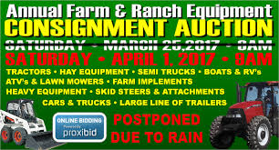 upcoming events u2013 annual equipment consignment auction u2013 diamond s
