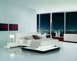 Platform Bedroom Furniture Sets Bedroom Set W Walk On Light Platform Bed 44b204set
