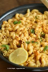 masala mac and cheese with indian spices vegan recipe vegan richa