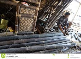 meubles en bambou meubles en bambou photo stock éditorial image 56430553