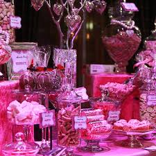 Pink Table L Buffet Pink And Sparkly Buffets L Sweetie Tables L
