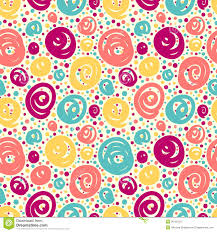 pattern art name seamless pattern with doodle dots stock vector illustration of