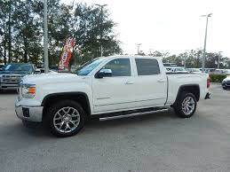 certified pre owned 2015 gmc sierra 1500 slt crew cab pickup in