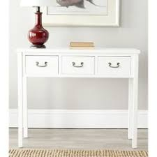 White Foyer Table Sofa Tables Console Table Glass Get Now White Console Table With