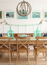 Dining Room Paintings Spring Home Tour Our Spring Entry Hall U0026 Dining Room The Happy