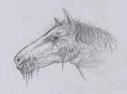 wayne tully fantasy art how to draw a zombie horse head video