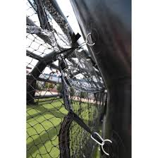 rude american rude american inflatable batting cage destroy it sports