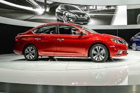 2018 Nissan Sentra Red Color Side View U2013 Nricars Com