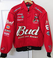 Nascar Winston Cup Series Dale Earnhardt Jr Bud Red Jacket Chase