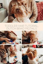 toddler hair toddler braid pigtail tutorial positively oakes