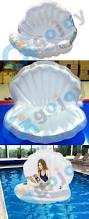Inflatable Pool Floats by Deep Sea Shells Inflatable Seashell Floats Giant Inflatable Pool