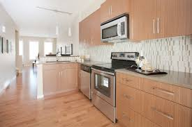 Stainless Steel Kitchen Pendant Lighting by Open Concept L Shaped Kitchen With Stainless Steel Appliances