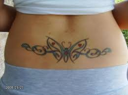 lower back butterfly tattoo designs http atattoodesignsforwomen