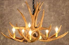 Deer Antler Ceiling Fan Light Kit Rustic Ceiling Fans Fn52288nb Lk33053wp1 52 Fan W Antler Light Kit