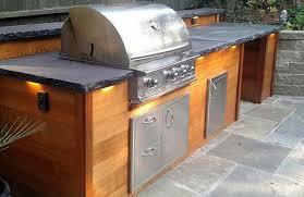 outdoor kitchen cabinet doors diy outdoor kitchen bbq island exterior finishes bbqguys