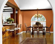burnt orange paint color burnt orange accent wall that