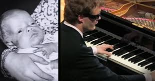 Blind Piano Player Derek Paravicini Was Born 3 Months Early Weighing Only 1 Pound