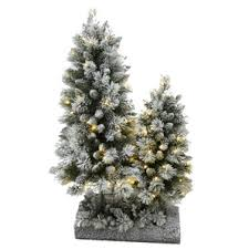 home hardware 3 4 pre lit decorated porch trees with 120