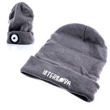 knit hat with led lights knit hat light with built in and removable rechargeable led light