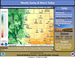 national weather forecast map denver weather forecast and warm thursday the denver post