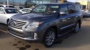 lexus lx 570 truck new grey on saddle tan 2015 lexus lx 570 4wd executive package