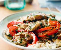 cuisine recette rapide recettes recette rapide de poulet thaïlandais facile à préparer