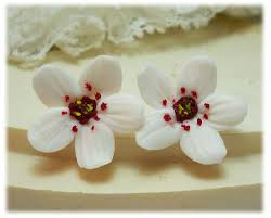 white cherry blossom cherry blossom jewelry a collection of handmade cherry blossom