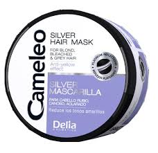 silver mask delia cameleo silver mask for and bleached hair 200ml