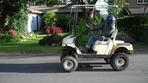 golf cart 440 polaris snowmobile engine lifted youtube