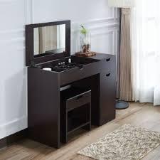 Vanities With Drawers Modern Makeup Vanities Vanity Tables Allmodern