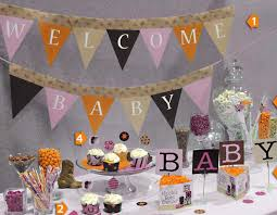 Baby Shower Decorations Pink And Gold In Distinctive Diy Baby