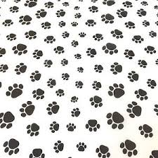 paw print sheets pet paw print tissue paper sheets for dogs cats pet hers gift