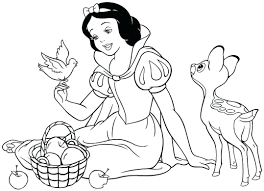 snow white coloring colouring book games pdf colouringinbook