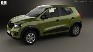 renault kwid silver colour 360 view of renault kwid 2016 3d model hum3d store