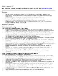 Vmware Resume Examples Vmware Engineer Resume