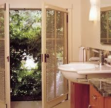 Bathroom Blind Ideas by Black Mini Blinds Dsc03825 Jeldwen 60 In X 80 In V4500