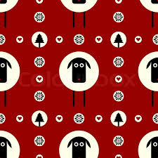 flat wrapping paper vector flat concept of seamless pattern design seamless