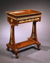 a consulat empire mahogany table a lire a secret chinese