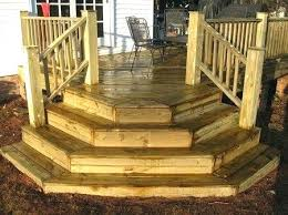 Deck Stairs Design Ideas Back Porch Steps Ideas How To Repairs Building Deck Stairs Ideas