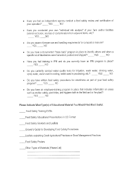 download food safety meeting minutes template for free page 6