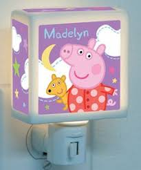 peppa pig light switch wall plate covers nursery room bedroom