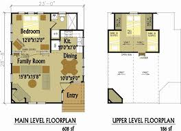 free cabin blueprints small house plans with loft inspirational cabin floor plans with